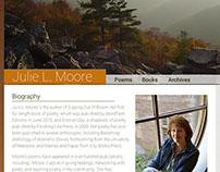 Julie L. Moore Site Redesign WIP