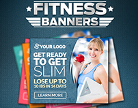 Fitness & Gym Banners