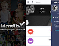 Friendfiz - Social Networking Mobile App 2 all platform