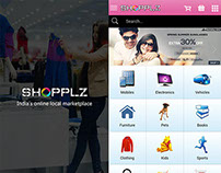 Shopplz Ecommerce Mobile App (Phonegap/Corodva)