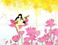 Modhuro dhoni baje - A sweet music resonates