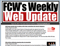 Floor Covering Weekly Web Update 8-23-14