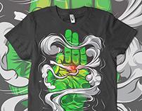 Cannabis shirt design
