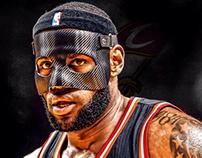 "Lebron James ""Mask"" Edit"