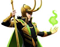 Loki Fanart.