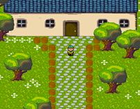 RPG pixel art for Ludum Dare 30