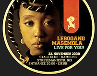 Lebogang Masemola Flyer