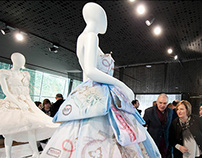 Dress paper of Javier Barroeta