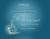 Evelise Luz - Portfólio Site