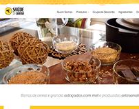 Saúde na Barra - Identidade Visual e Site