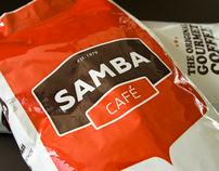 Samba Café Visual Identity