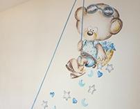 Bears - Mural painting