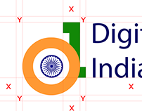 Digital India Logo Submission (2014)