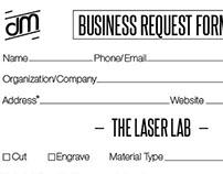 customer information form for Design More LLC