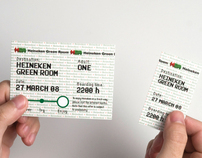 Heineken Green Room 08' Ticket
