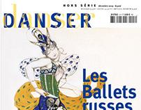 magazine Danser - identity and editorial design
