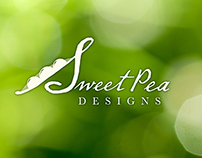 Logo design for Sweet Pea Designs