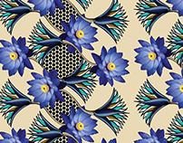 Egipt patterns desing: Loto