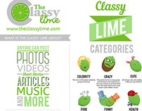 The Classy Lime Infographic