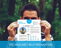 Self promotion | CV | Resume | Printable | Free