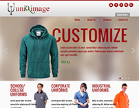 Uniqimages Website Design