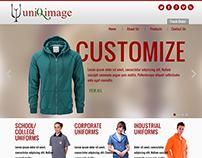 Uniqimages Website Design