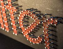 String Typography