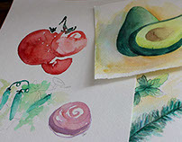 Garden Watercolors