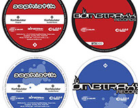"Bombtraxx Records Label for 12"" Vinyl"