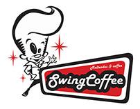 Swing Coffee Logo Design