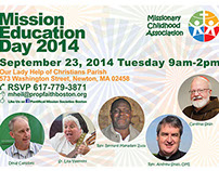 Mission Education Day 2014