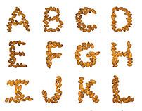 Almond Alphabet