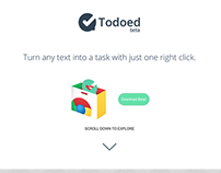 Todoed Website Design