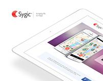 Sygic Family Locator page