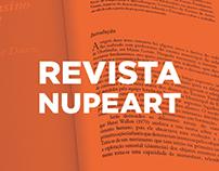 Revista Nupeart - Diagramação