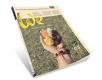 We | Editorial Design