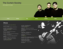 jQuery Scrolling Website | The Curtain Society