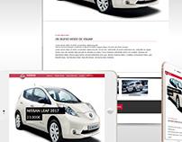 Landing page - hibrid car