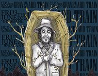 Graveyard Train (gig posters)