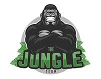 Identidade Visual - The Jungle Team (E-Sports)