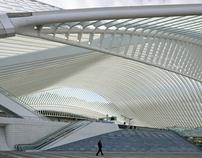 Santiago Calatrava - station Liège - Guillemins