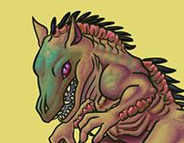 Chupacabra- mini monster's series