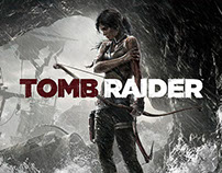 TOMB.RAIDER.UI + IDENTITY DESIGN //