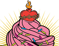 Our Lady of Cupcakes Logo