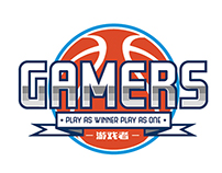 Basketball team logo