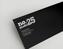 No.25 Cafe Studio Logo