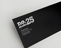 No.25 Cafe Studio Logo