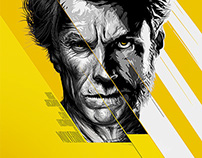 CLINT EASTWOOD as WOLVERINE