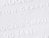 Stationery - Letter press
