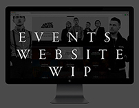 Event Website WIP